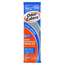 Odor-Eaters Ultra Durable Foot Odor Insoles, Odor and Wetness Protection, Foot Odor Treatment, 1 pair of insoles