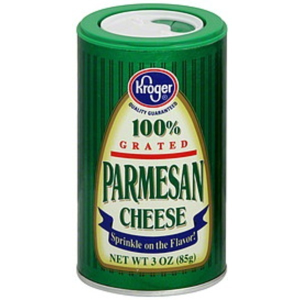 Kroger Grated Parmesan Cheese