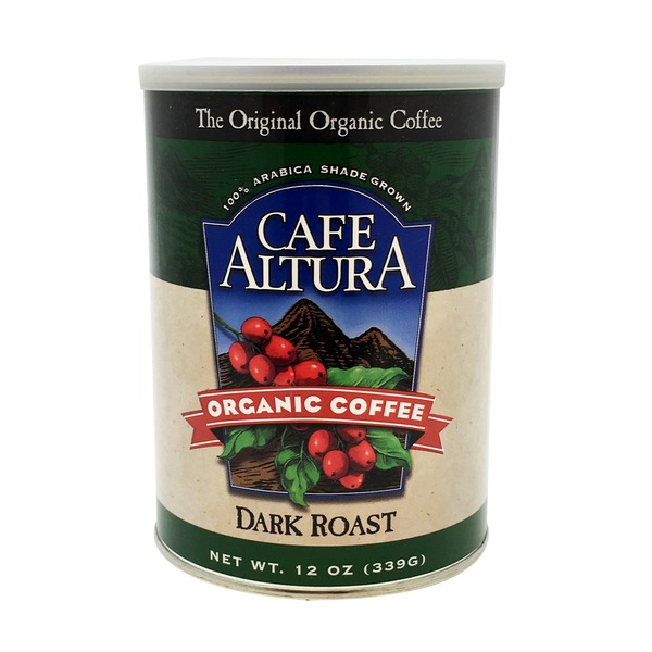 Cafe Altura Organic Coffee Dark Roast