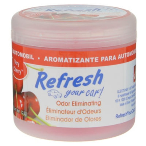 Refresh Your Car Very Cherry Scented Gel Can