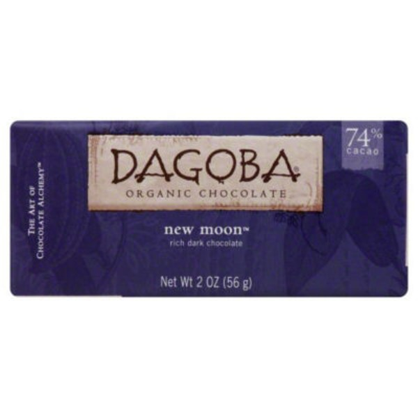 Dagoba New Moon Organic Rich Dark Chocolate
