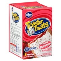 Kroger Toaster Treats Frosted Strawberry