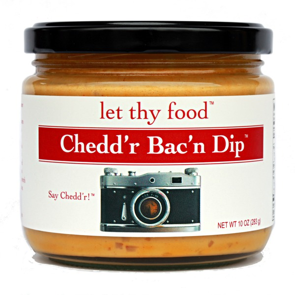 Let Thy Food Chedd'r Bac'n Dip