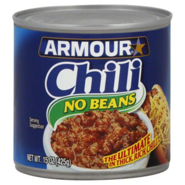 Armour No Beans Chili