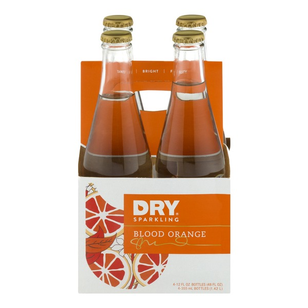 DRY Blood Orange Soda - 4 CT