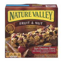 Nature Valley™ Chewy Granola Bar Trail Mix Dark Chocolate and Nut 6 - 1.2 oz Bars, 1.2 OZ