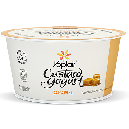 Yoplait Custard Whole Milk Yogurt Caramel