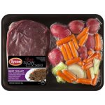 Tyson Ready for Slow Cooker Beef Roast with Vegetables, 62 oz.