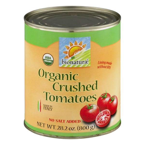 Bionature Organic Crushed Tomatoes