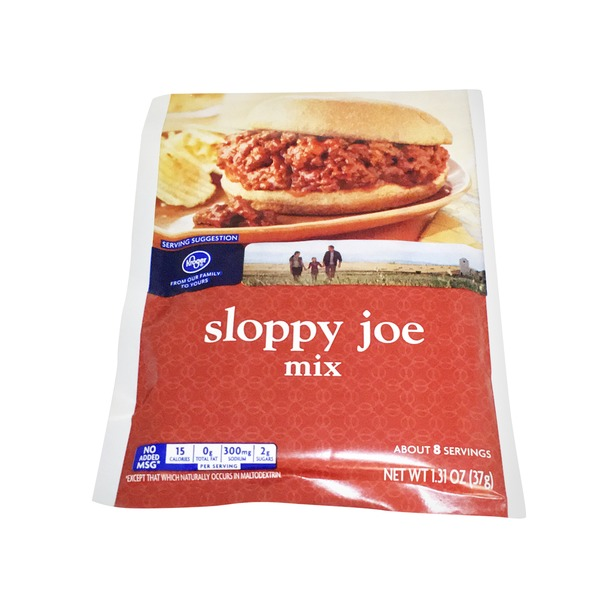 Kroger Sloppy Joe Mix