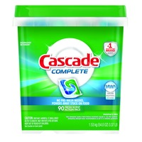 Cascade Complete™ ActionPacs™ Dishwasher Detergent Fresh Scent 90 Ct Dish Care