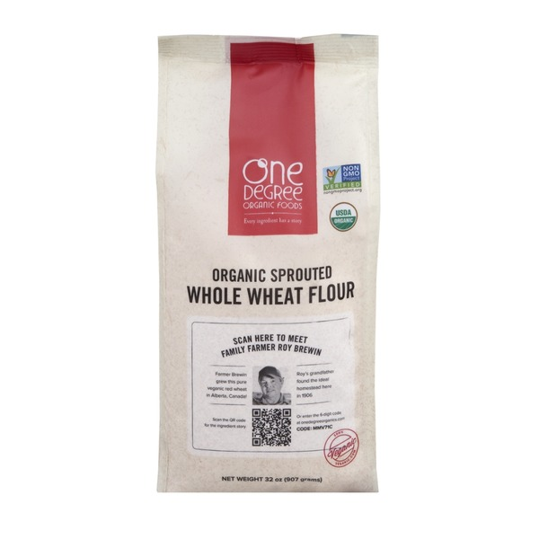 One Degree Organics Organic Sprouted Whole Wheat Flour