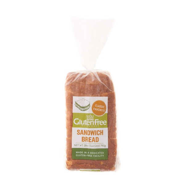 Whole Foods Market Gluten Free Sandwich Bread