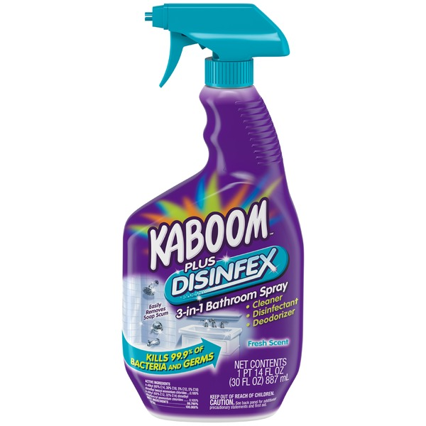 Kaboom Fresh Scent 3-in-1 Bathroom Spray