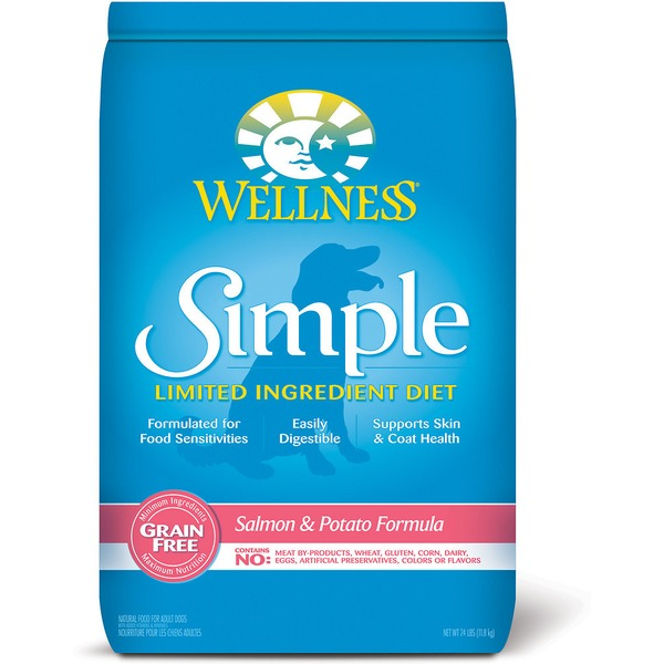 Wellness Simple Limited Ingredient Diet Grain-Free Salmon & Potato Formula Dry Dog Food