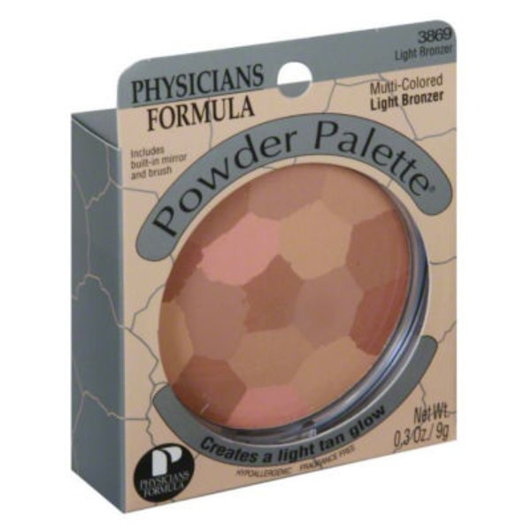 Powder Palette® 3869 Light Bronzer Multi-Colored--3869C Hale Multicolore Bronzer-Bronzeur