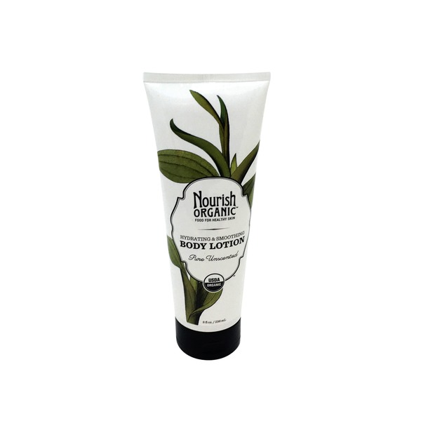 Nourish Organic Body Lotion, Organic, Pure Unscented