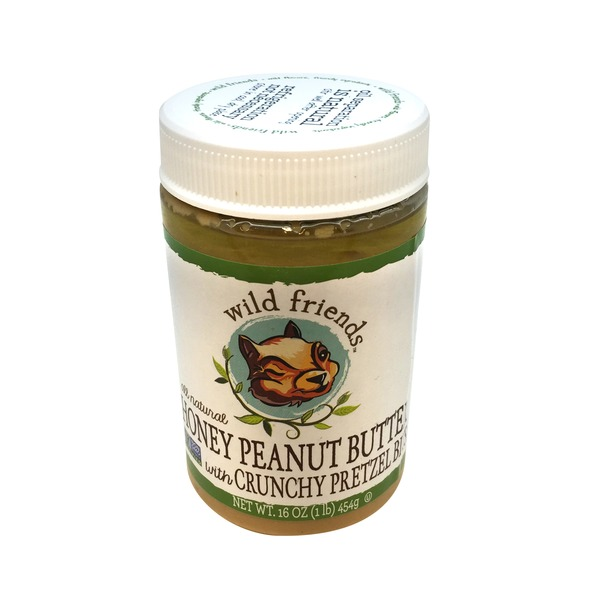 Wild Friends Honey Peanut Butter With Crunchy Pretzel Bits