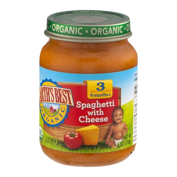 Earth's Best Organic Stage 3 Spaghetti with Cheese