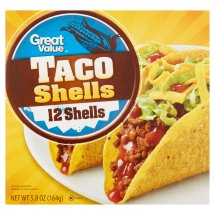 Great Value Taco Shells, 5.8 oz, 12 Count