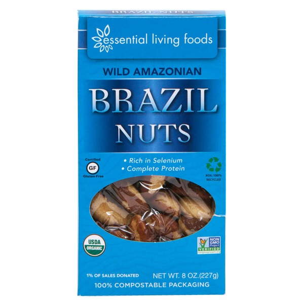 Essential Living Foods Wild Organic Brazil Nuts