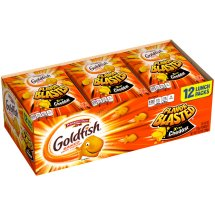 Goldfish® Flavor Blasted® Xtra Cheddar Baked Snack Crackers 12-0.9 oz. Pouches