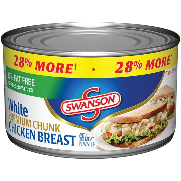 Swanson's White Premium Chunk Breast in Water Chicken