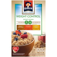 Quaker Flavor Variety Instant Oatmeal Weight Control
