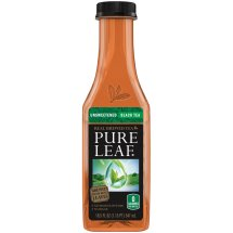 Pure Leaf Real Brewed Tea Unsweetened Black Tea, 18.5 FL OZ