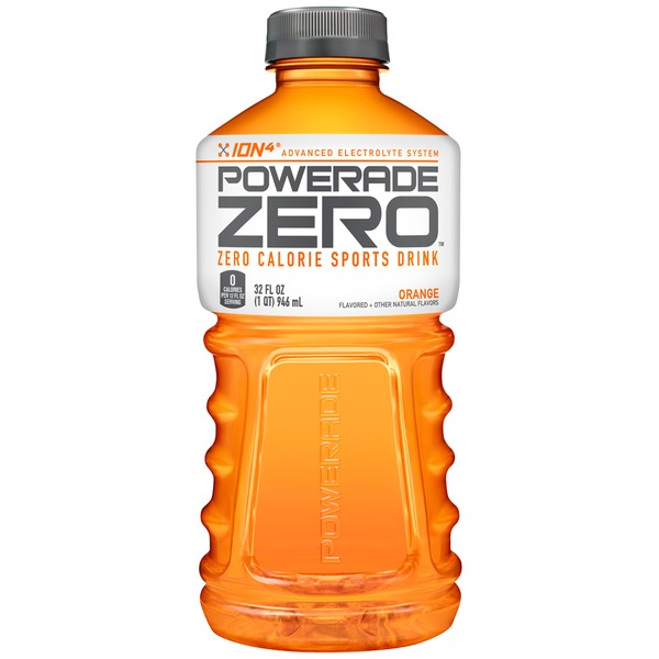 Powerade Zero Zero Calorie Orange Sports Drink
