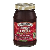 Smucker's Simply Fruit Spreadable Fruit Seedless Strawberry, 10.0 OZ