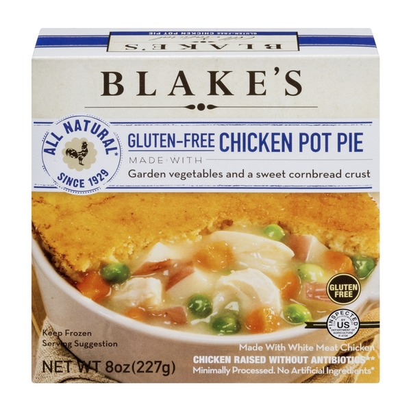 Blake's Gluten-Free Chicken Pot Pie