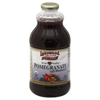 Lakewood Organic Smart Healthy Pomegranate with Blueberry 100% Juice