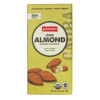 Alter Eco Dark Almond Organic Chocolate