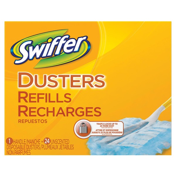 Swiffer 180 Dusters Refills Starter Kit 24 Count Surface Care