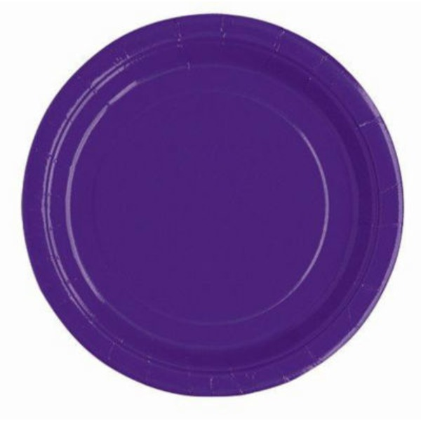 Unique Purple Plates