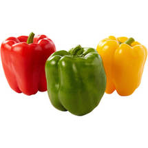 Mixed Bell Peppers (colors may vary)