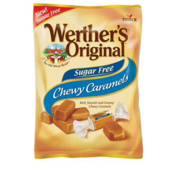 Werther's Original Chewy Caramels Sugar Free