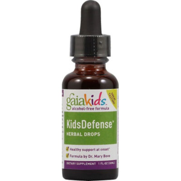 Gaia Herbs Kids Defense Herbal Drops