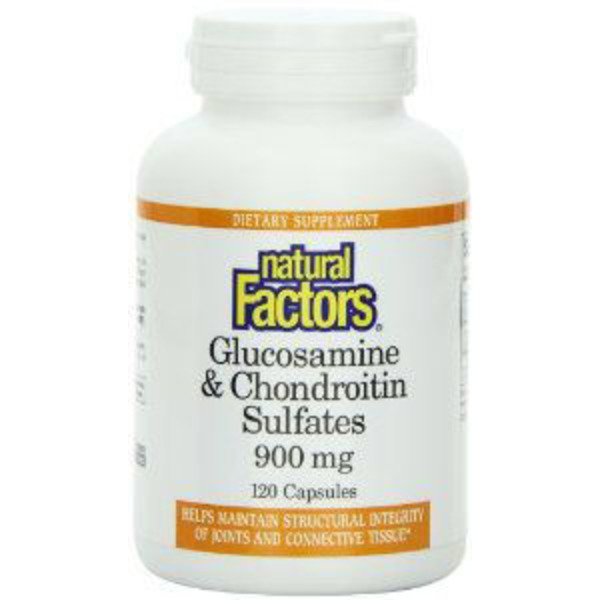 Natural Factors Glucosamine 500 Mg & Chondroitin Sulfate 400 Mg Capsules