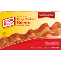 Oscar Mayer Fully Cooked Bacon