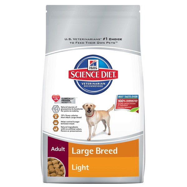 Hill's Science Diet Light Large Breed Adult Dog Food