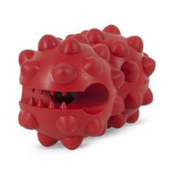 Petmate Dogzilla Small Red Knobby Treat Grabber