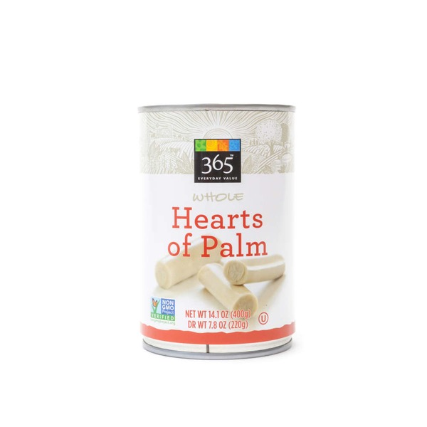 365 Whole Hearts Of Palm
