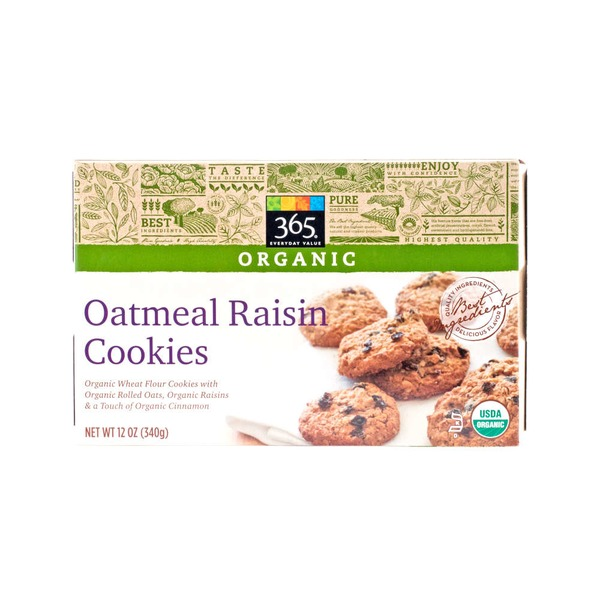365 Oatmeal Raisin Cookies
