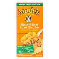 Annie's Homegrown Shells & Real Aged Cheddar Mac & Cheese Macaroni & Cheese