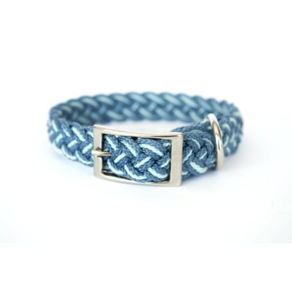 Csm Medium Braided Collar Blue 14
