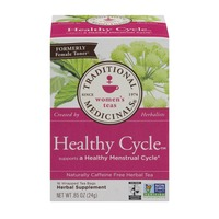 Traditional Medicinals Healthy Cycle Herbal Tea Bags, Caffeine Free
