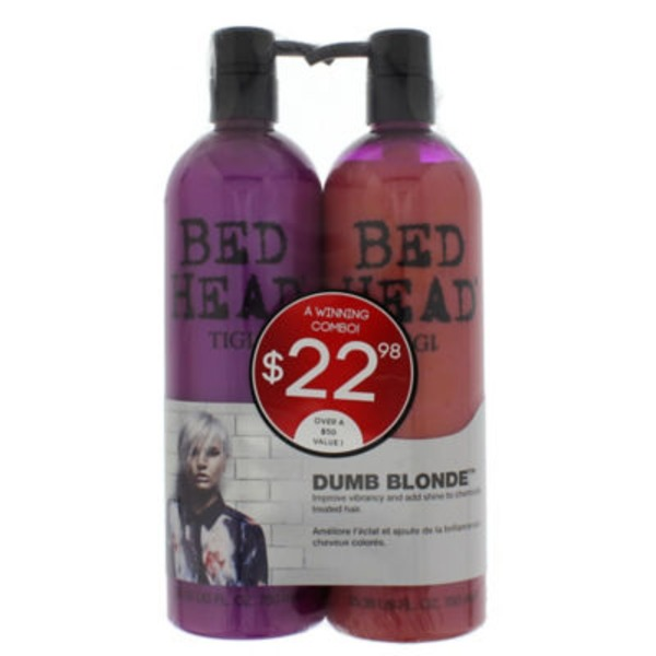 Tigi Bedhead Dumb Blonde Shampoo & Conditioner Duo Pack