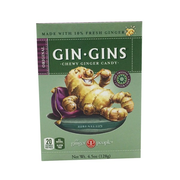 The Ginger People Gin Gins Ginger Chewy Candy